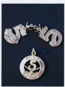 5 aside medals 1940 _1943